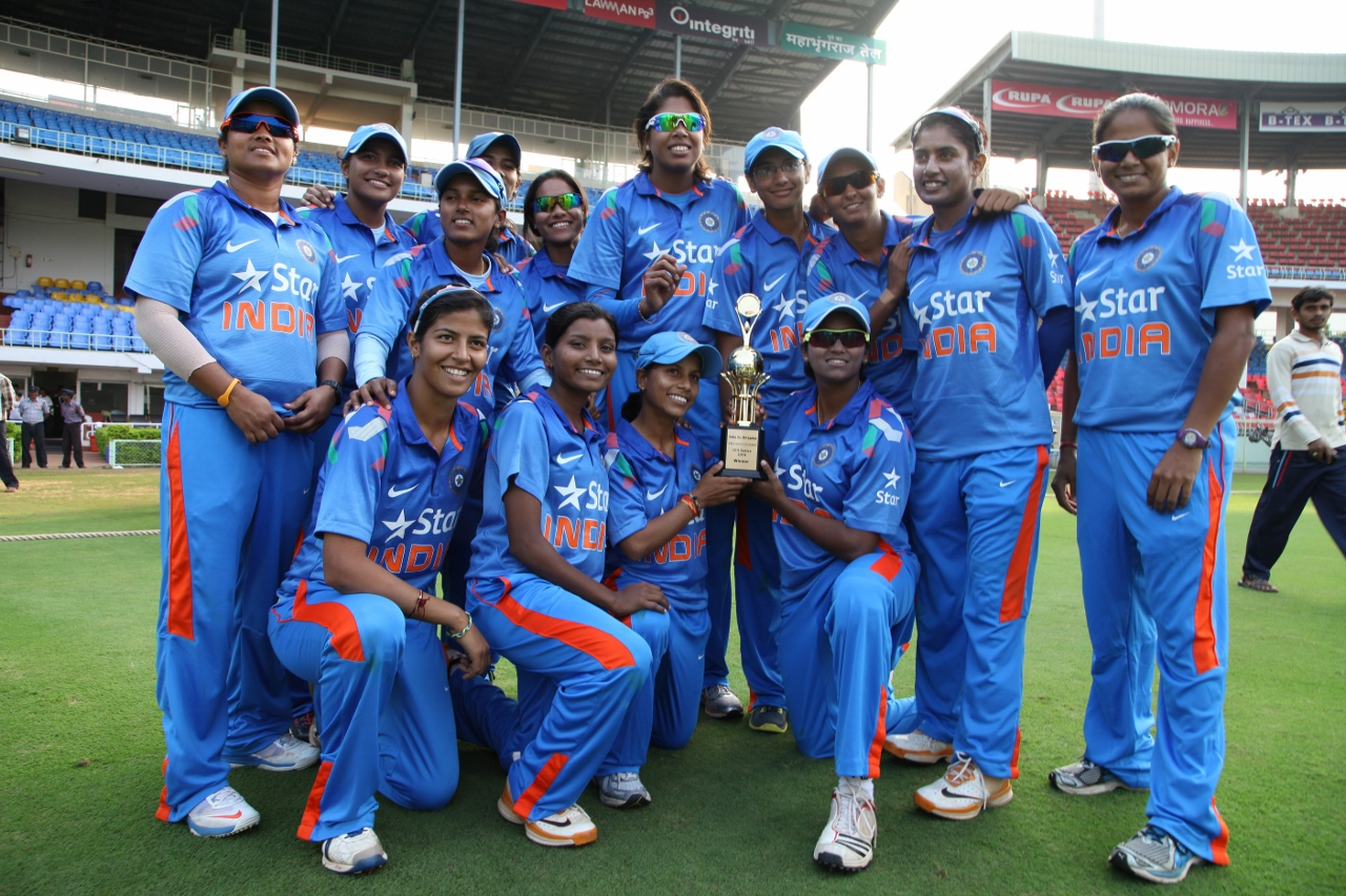 Indian Women's Cricket Team at the ICC Women's 2017 World Cup final