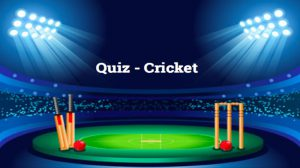 Sports Quiz for Cricket Fans