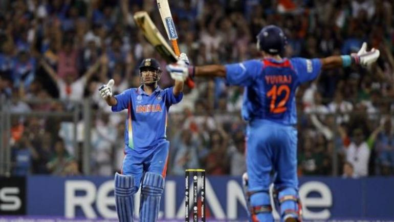 MS Dhoni's six off Nuwan Kulasekara to win the 2011 World Cup is probably the most iconic shot of his career