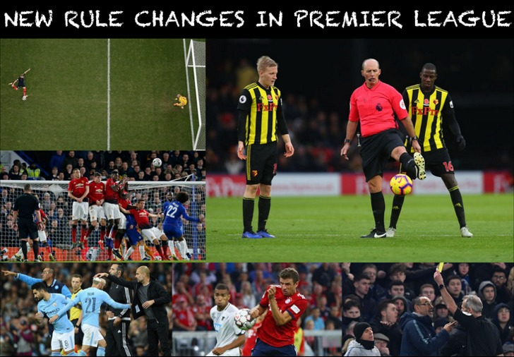 New Rule Changes in English Premier League
