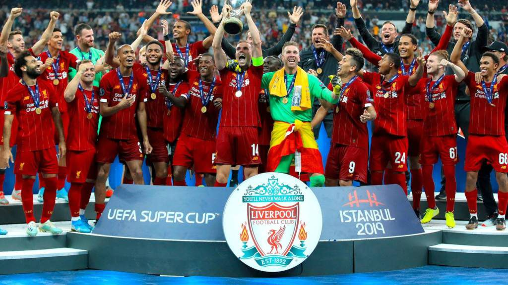 Liverpool won the UEFA Super Cup against Chelsea on penalties.