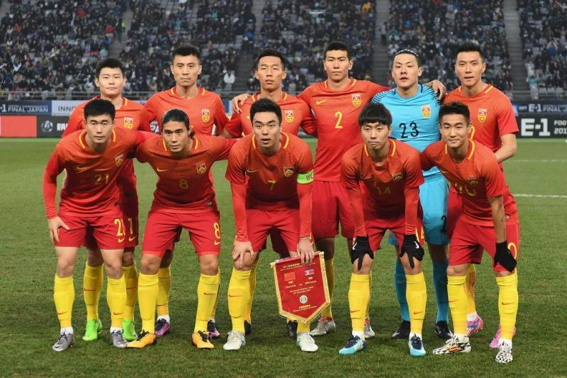Image result for CHINA PR football team 2019