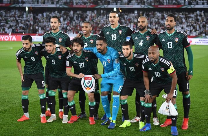 Image result for UNITED ARAB EMIRATES football team 2019